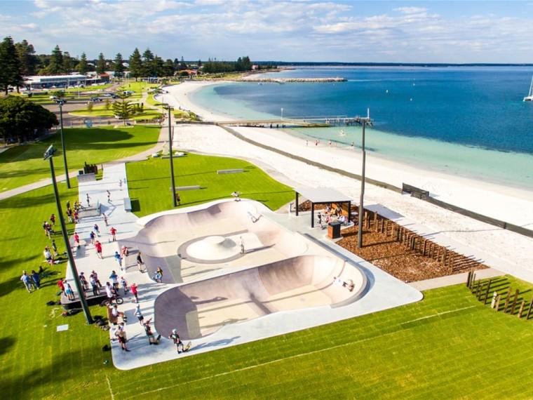 澳大利亚Esperance滑板公园-1