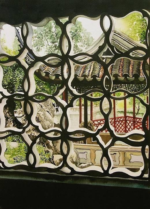 园林景观中仿古建筑的设计标准_2