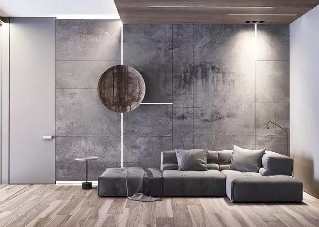 现在客厅都流行这么装,快扔掉你家笨重的大沙发吧!_4
