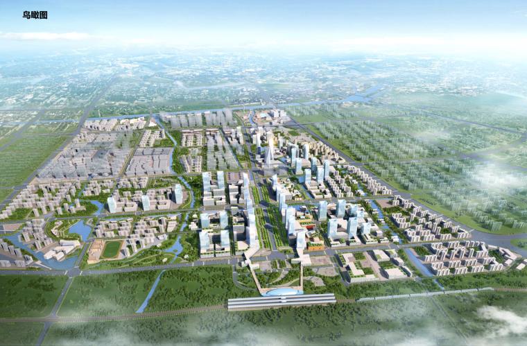 [江苏]南通市北翼新城核心区控规及城市设计方案文本(现代城市新区,区域一体化)
