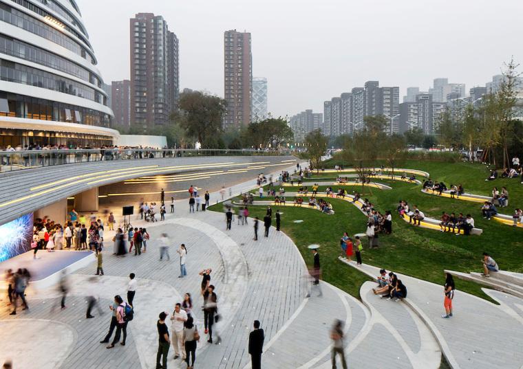 北京望京SOHO景观-8