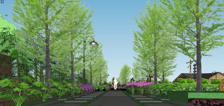 城市生态农业园民宿景观设计 3