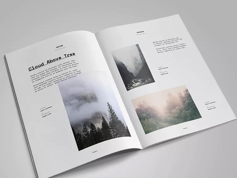 53套画册作品集排版参考[indesign格式]图片
