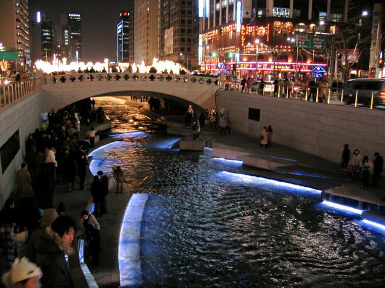 韩国ChonGae运河修复工程_8