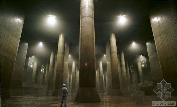日本的地下宫殿:宏伟的城市排水设施