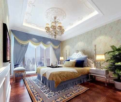 欧式贵族床资料下载-清凉之色 品宫廷简式繁华