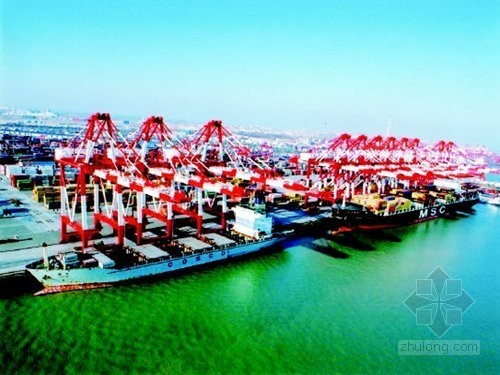 [山东]深水码头工程监理规划(世界最大顺岸式码头之一)