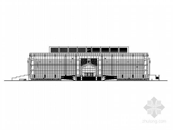 [宁夏]省级博物馆建筑施工图(知名建筑设计院)