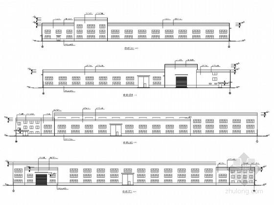 门式刚架结构压力容器生产车间及气瓶检验车间结构施工图(含建筑图)