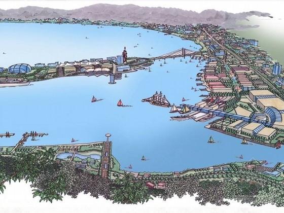 [海南]绚丽港口段城市景观规划设计方案