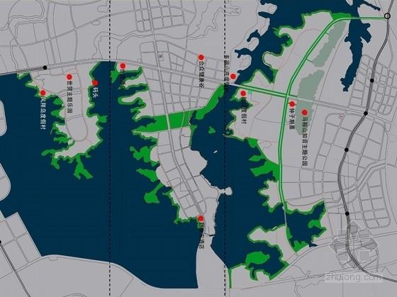 [武汉]湖畔滨水休闲景观园林修建性详细规划方案