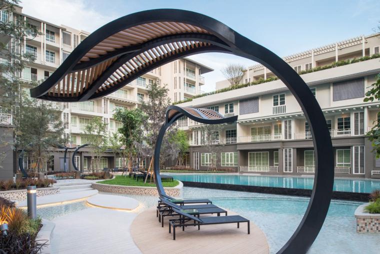 泰国秋季公寓楼小区_3