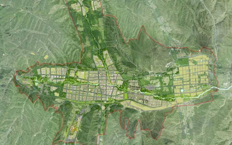 [青海]多巴新城概念规划和总体城市设计汇报版方案文本-AECOM
