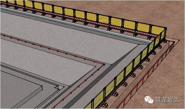 基坑工程安全生产标准化做法,三维图展示