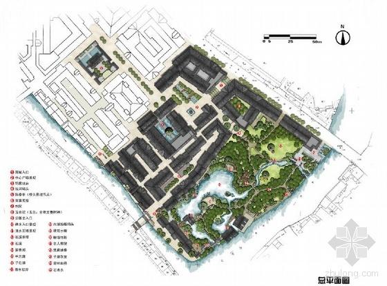 启·承·转·合——无锡南禅寺商城南侧地块改造规划设计