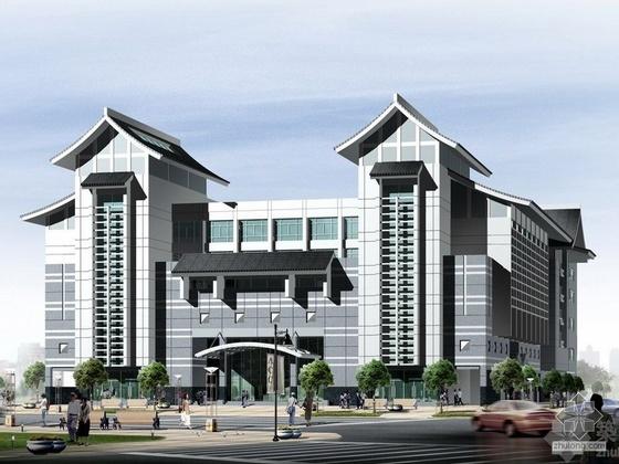 苏州市房地产交易市场扩建方案设计文本