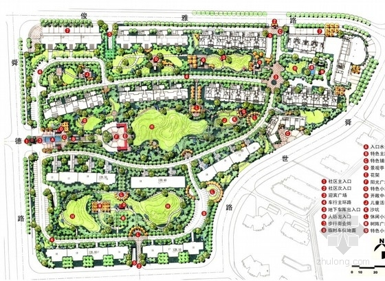 [济南]居住区景观设计方案