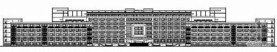某城市学院主教学楼建筑施工图