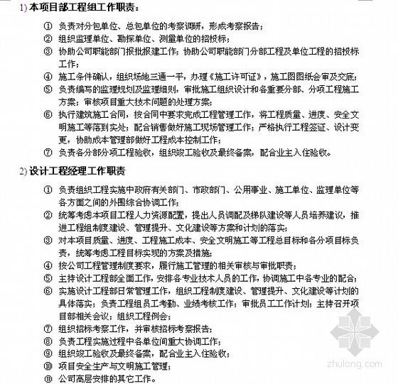 [标杆房企]房地产开发项目工程管理策划书(52页,图表丰富)