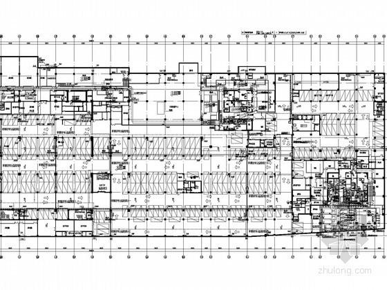[上海]高层建筑综合体给排水消防施工图(太阳能热水系统 雨水回用)