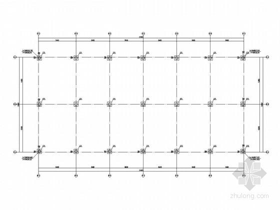 [江西]三层现浇框架结构独立商业结构施工图