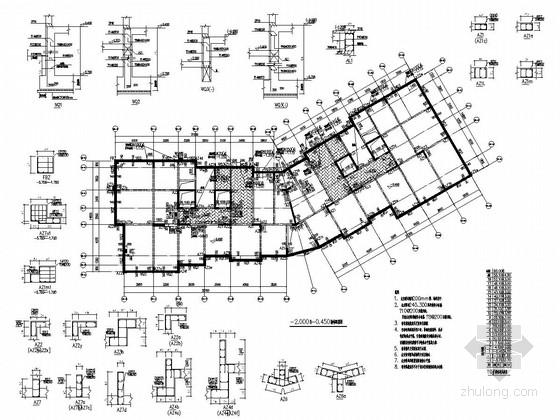 [浙江]18层剪力墙结构住宅楼结构施工图