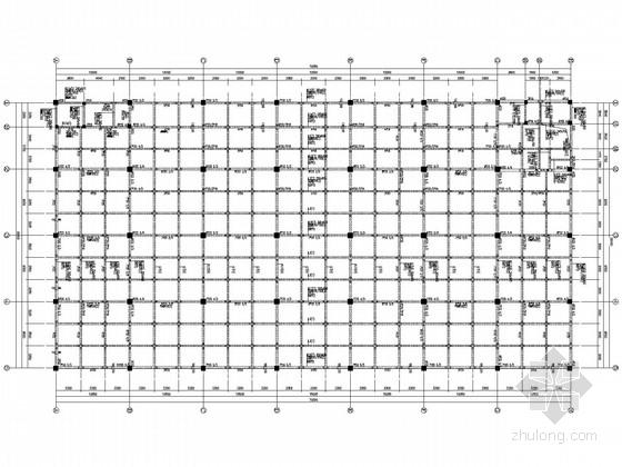 3层框架厂房结构施工图
