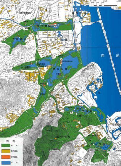 杭州西湖西进区总体规划方案