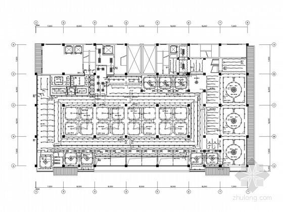 [江苏]酒店强弱电消防系统施工图纸