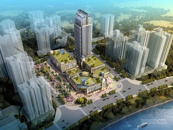 [重庆]现代风格商业综合体设计方案文本(含CAD)
