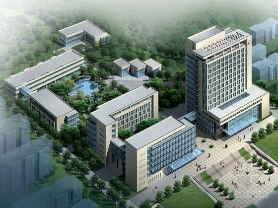[江苏]高层现代风格中医院门诊外科综合楼建筑设计方案文本