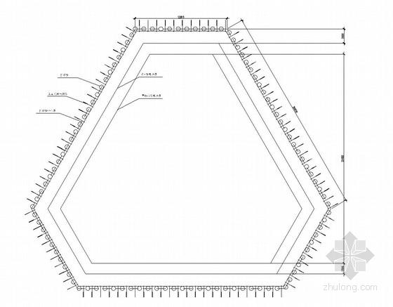 [辽宁]基坑支护降水及CFG桩复合地基施工图