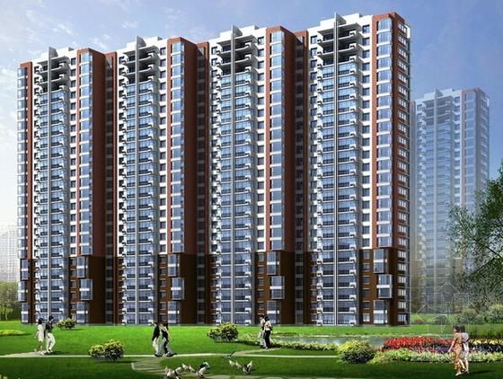 [山东]大型居住社区项目建筑安装工程预算书(含全套CAD图纸)