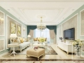 郑州中海锦苑140平方三室两厅一站式装修方案