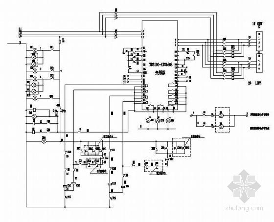 变频器控制原理图