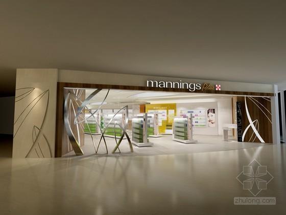 化妆品店3D模型下载