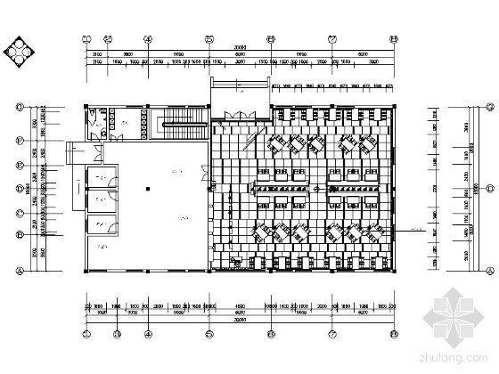 [毕业设计]餐厅空间设计施工图