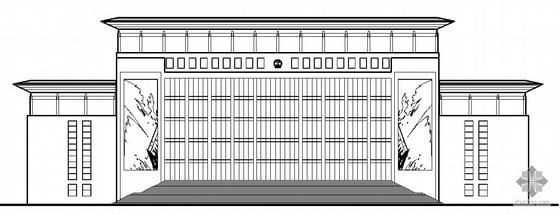 [河北]某人民法院审判综合楼建筑施工图(含节能设计)