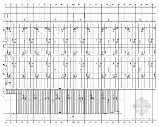 [广东]知名企业单体生产车间扩建项目通风空调系统施工图(空气源热泵)