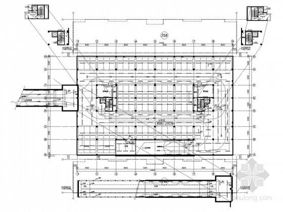 大型小区住宅楼地下车库全套电气施工图纸