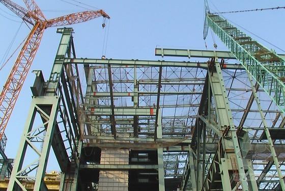 [上海]炼钢厂厂房主体结构、设备安装工程施工组织总设计(256页)