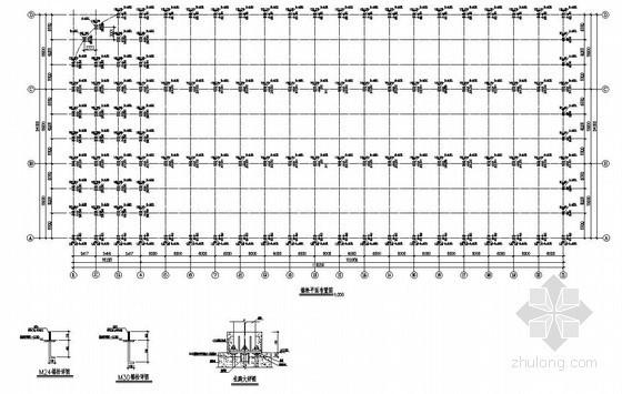 [武汉]钢结构新建厂房及办公楼结构设计图