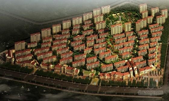 [辽宁]欧式风格住宅区规划及单体设计方案文本(精品方案,资料齐全,附图丰富)