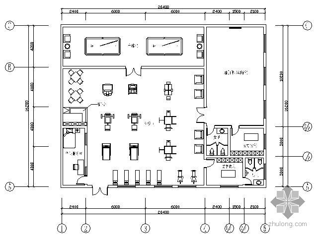 健身活动房改造工程内装施工图(含效果)