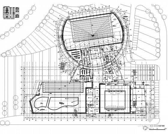 [江苏]体育中心室内游泳馆弱电施工图纸