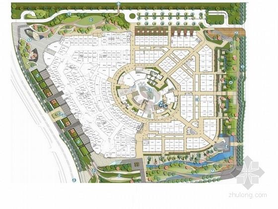 [上海]百业信购物公园设计方案