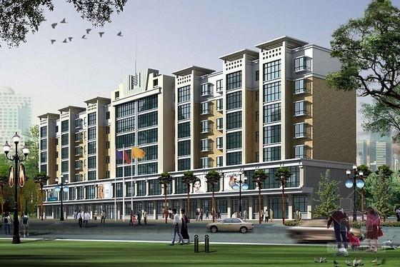 高层商住楼建筑安装工程造价指标分析