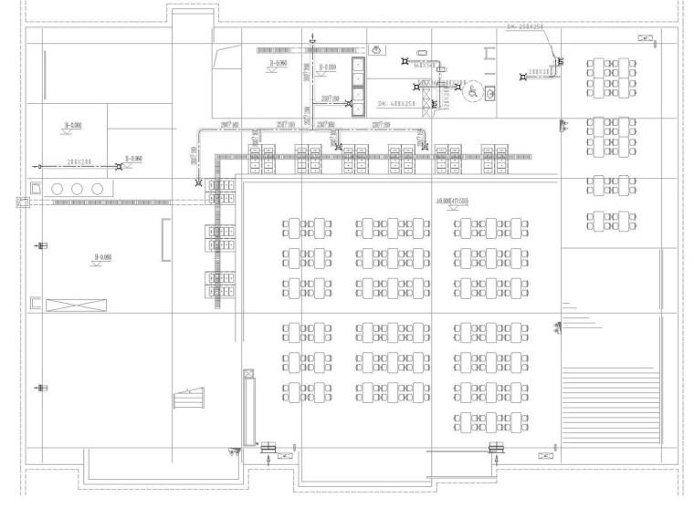 [重庆]高等院校实验楼公寓及餐厅通风防排烟系统设计施工图