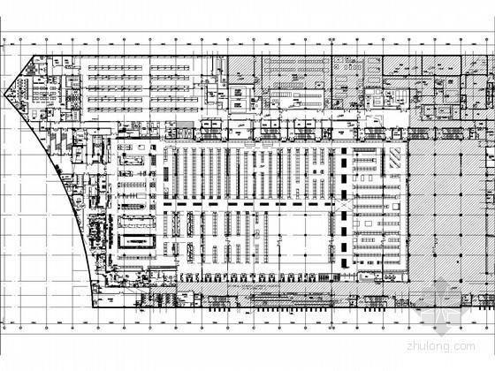 [大连]国际连锁超市电气平面图