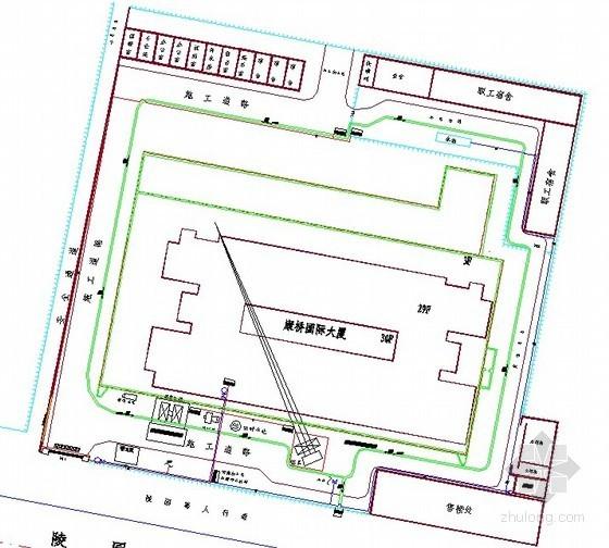 [河北]框剪结构商业大厦施工组织设计(图表齐全)